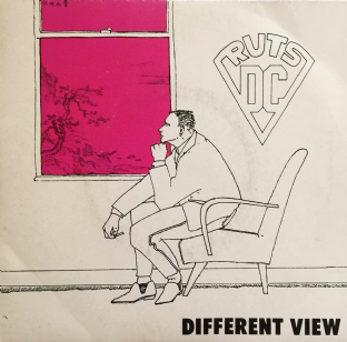 "Ruts DC ‎- Different View (7"") (EX/VG-)"